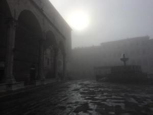 Sunrise in Perugia