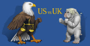US vs UK legal battle