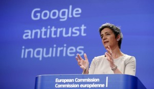 Margrethe Vestager, EU DG COMP Google antitrust