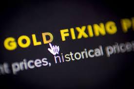 Gold fixing